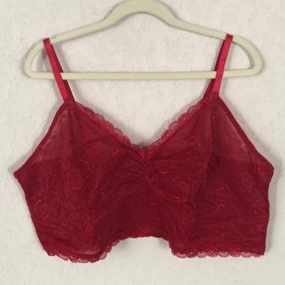 5c0df9ec97704 Lovesick Other - Lovesick Red Lace Bralette